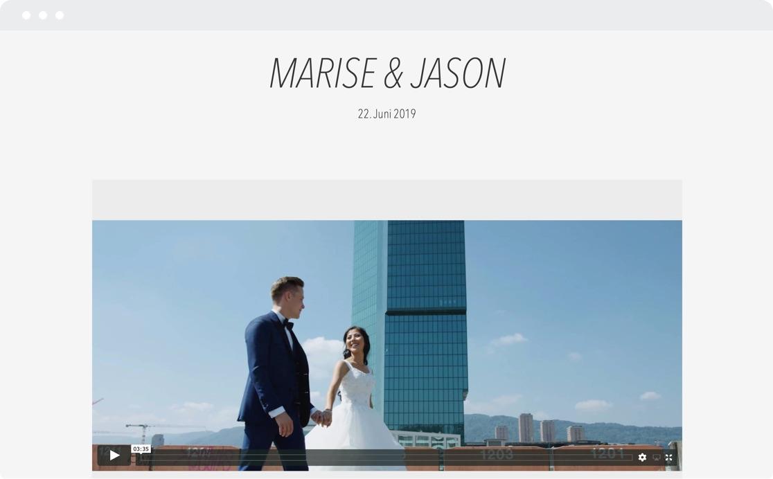 Marise & Jason